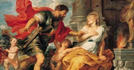 Marte Reia fundação de Roma peter paul rubens