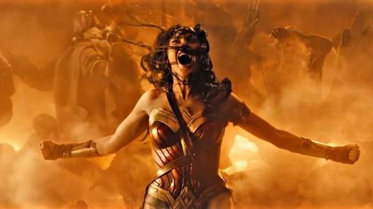 explosão mulher-maravilha