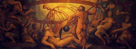 castração de Urano Giorgio Vasari 1564